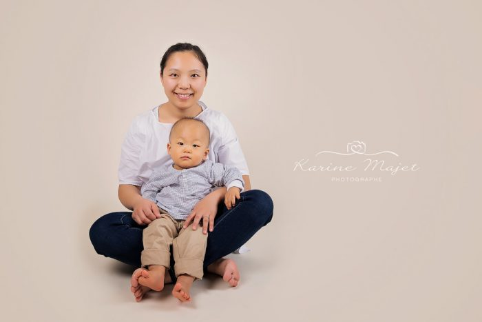 shooting photo enfant complicité maman et son fils Karine Majet photographe