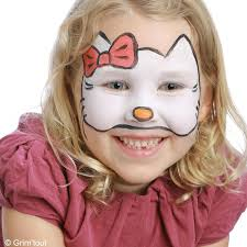 maquillage hello kitty anniversaire 3 ans creava