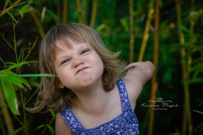 photographier son enfant en vacances portrait fille naturel