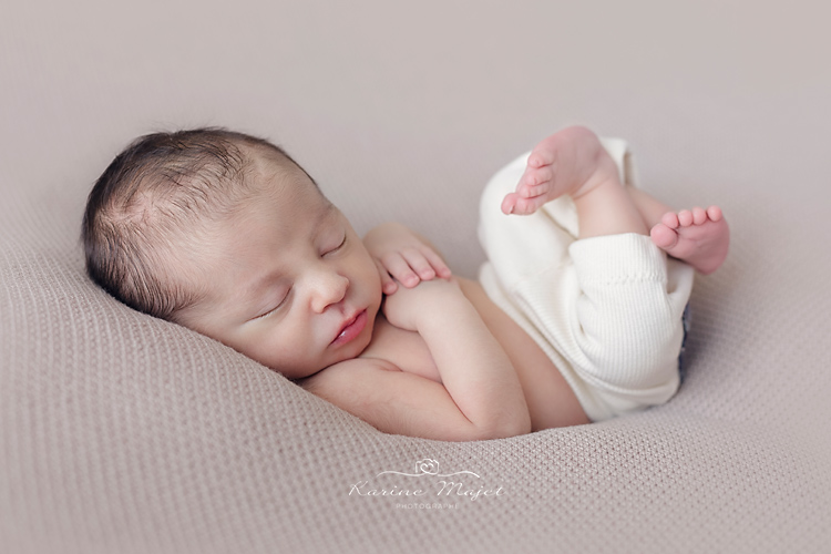 photographe nouveau-ne IDF photo de studio bébé
