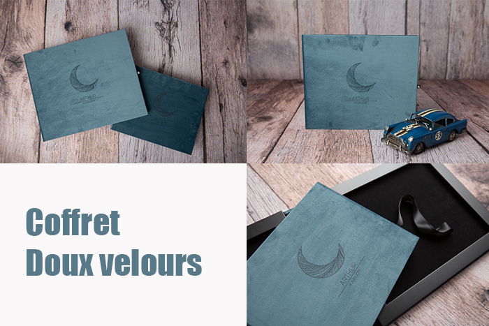 coffret photo doux velours album photo et écrin personnalisable karine majet photographe