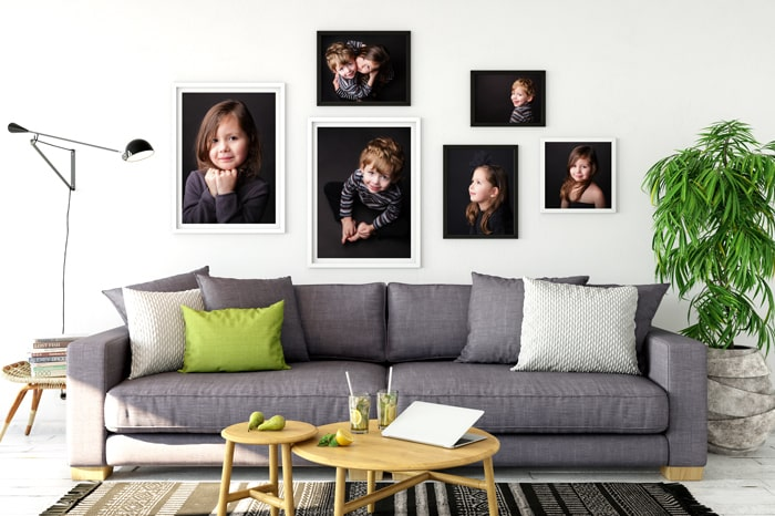 decorate home with children pictures karine majet photographe
