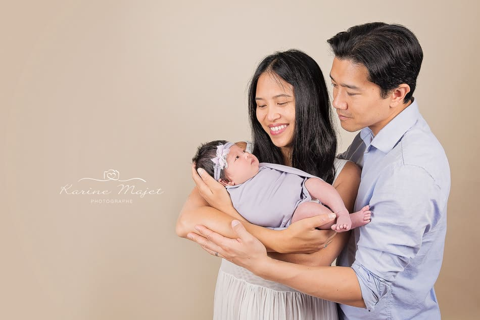 newborn photo session Antony first family picture